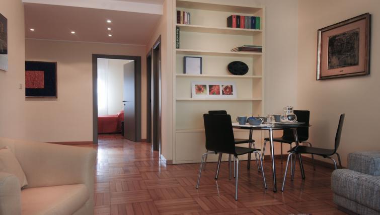 Dining area at Domenichino Apartment