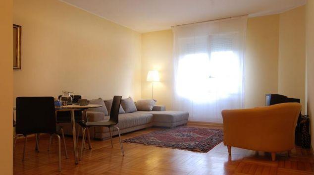 Living area at Domenichino Apartment