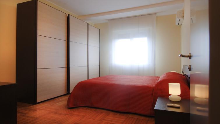 Bedroom at Domenichino Apartment