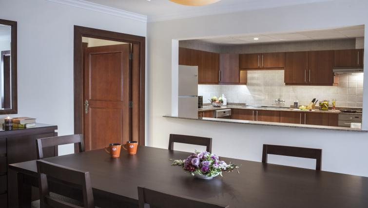 Dining table at Sedra Residences