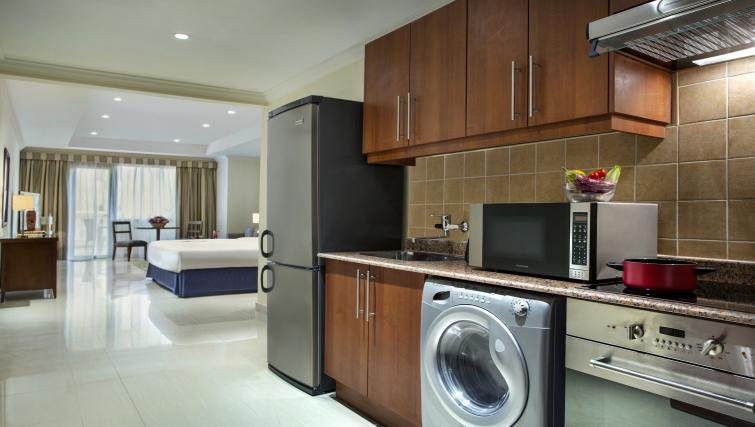 Basic kitchenette at Sedra Residences