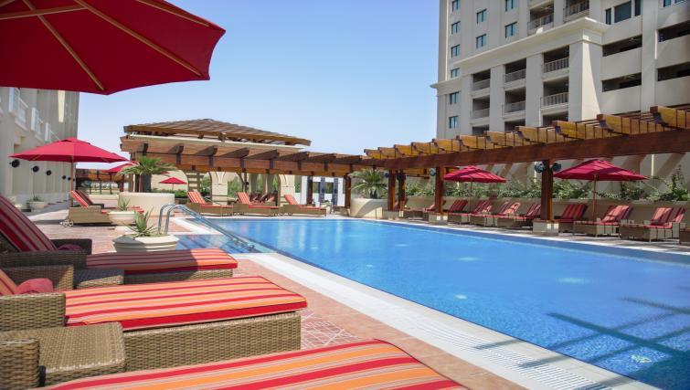 Swimming pool at Sedra Residences