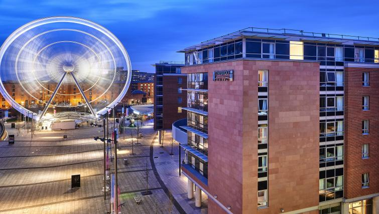 Exterior of Staybridge Suites Liverpool