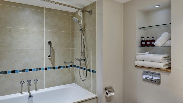 Bathroom at Staybridge Suites Liverpool