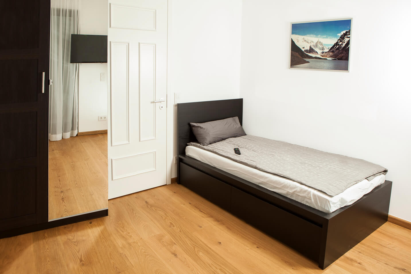 Single bed at Töngesgasse Apartments