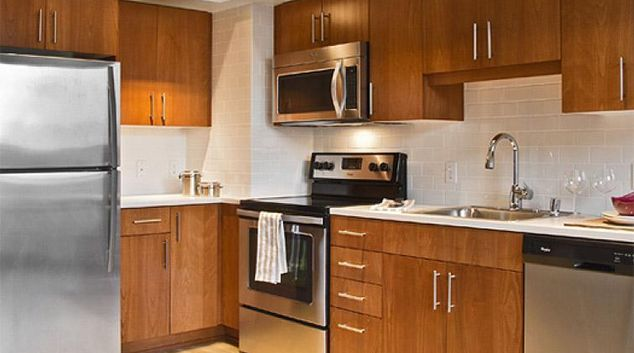 Kitchen at Coppins Well Seattle Apartments