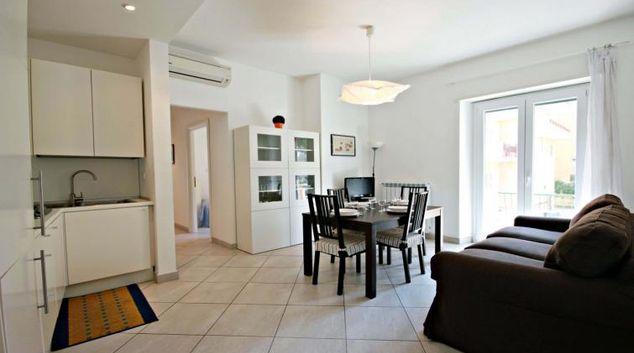 Comfortable living area at Lattanzio Apartment