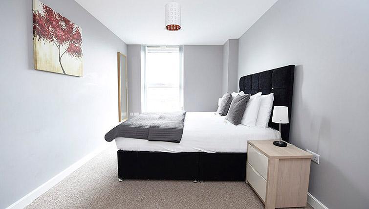 Bedroom at Dream Apartments Belfast Obel