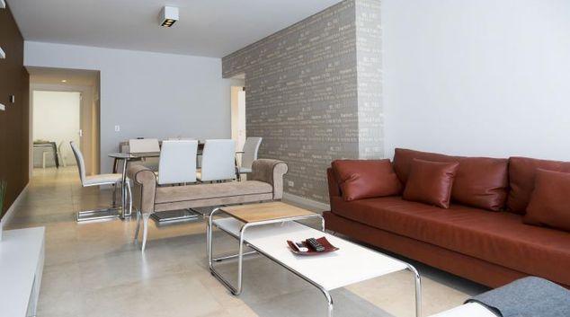 Living area at El Rastro, Colegiales, Buenos Aires