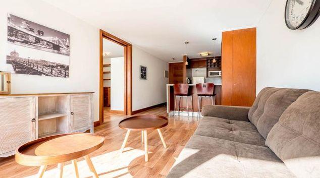 Living room at Alsacia Light Apartment, Las Condes, Santiago