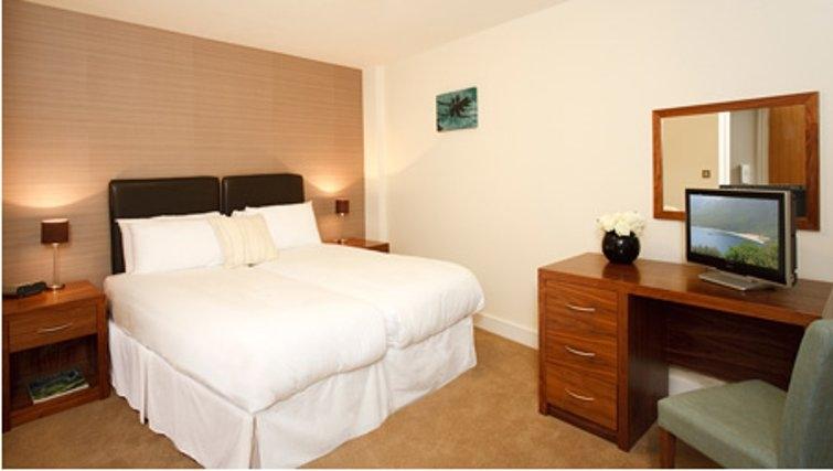 Spacious bedroom in SACO Holborn - Lamb's Conduit Street