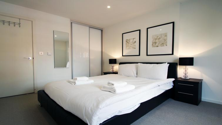 Bedroom at Angel Apartments