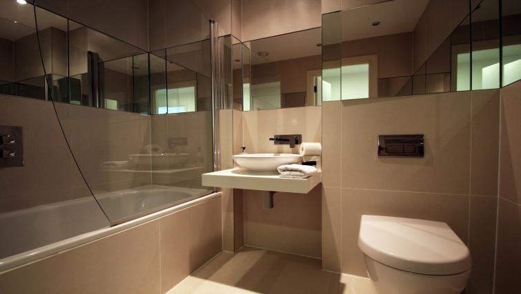 Bathroom at Angel Apartments