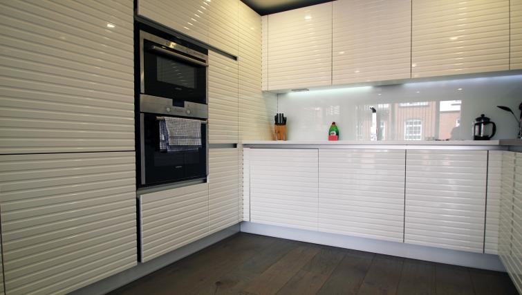 Kitchen at Angel Apartments