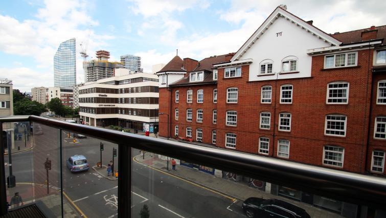 Balcony at Angel Apartments