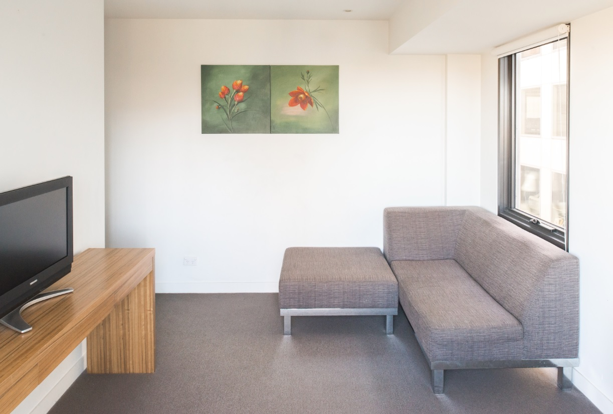 TV at Seasons Heritage Melbourne Apartments