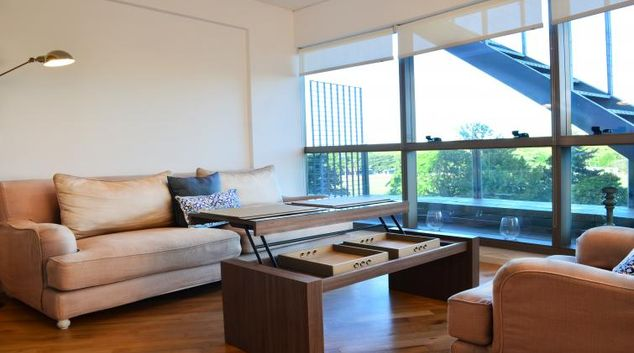 Living room at Polo Style Apartment