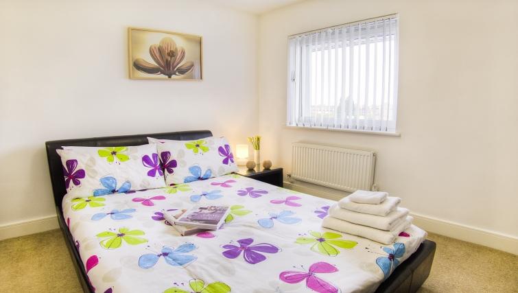 Cosy bedroom in WaterSide Park Apartments