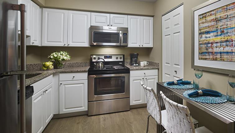 Kitchen at AVE Blue Bell Townhouses