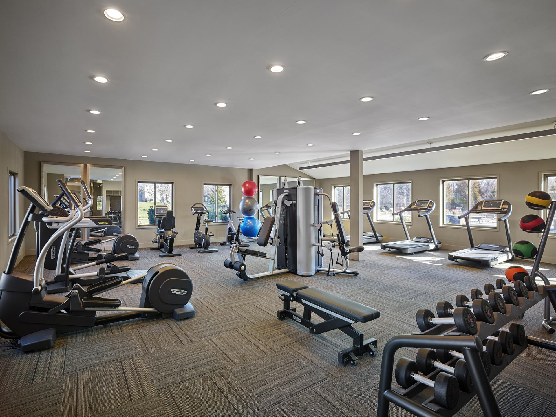 Gym at AVE Blue Bell Townhouses