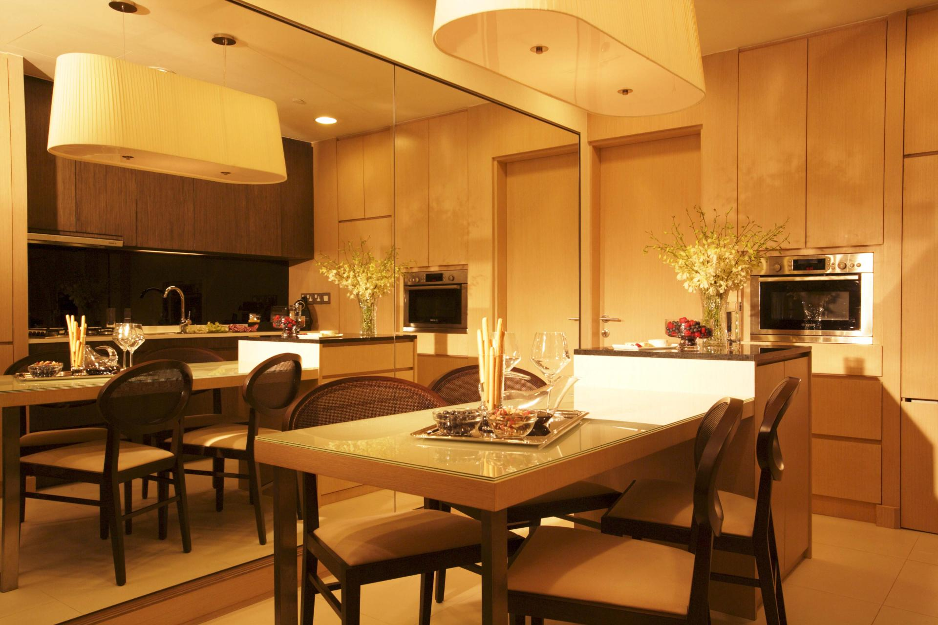 Dining table at Fraser Suites Singapore