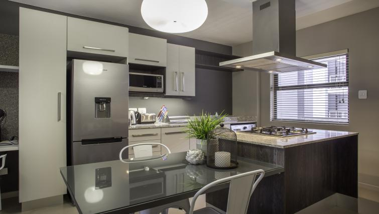 Modern kitchen at Bryanston Drive Apartments