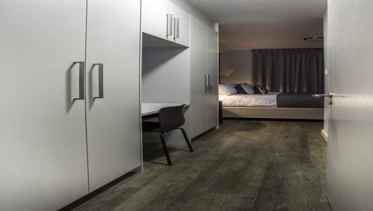 Work space at Bryanston Drive Apartments