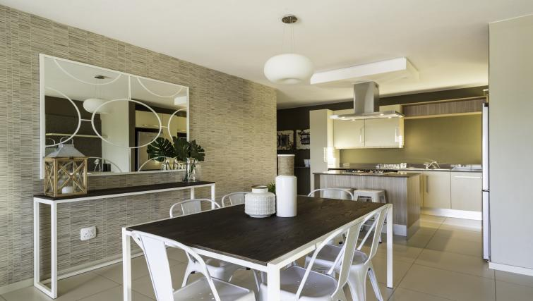 Dining table and chairs at Bryanston Drive Apartments