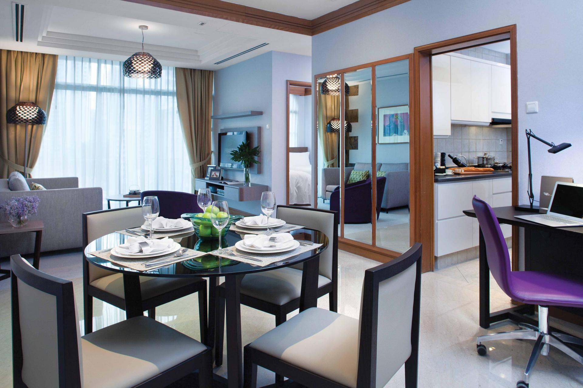 Dining area at Fraser Place Robertson Walk Singapore