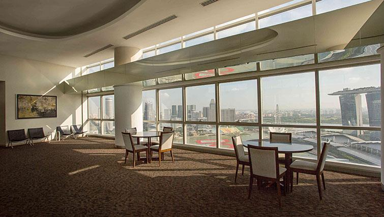 Dining room at Marina Boulevard Singapore Apartments