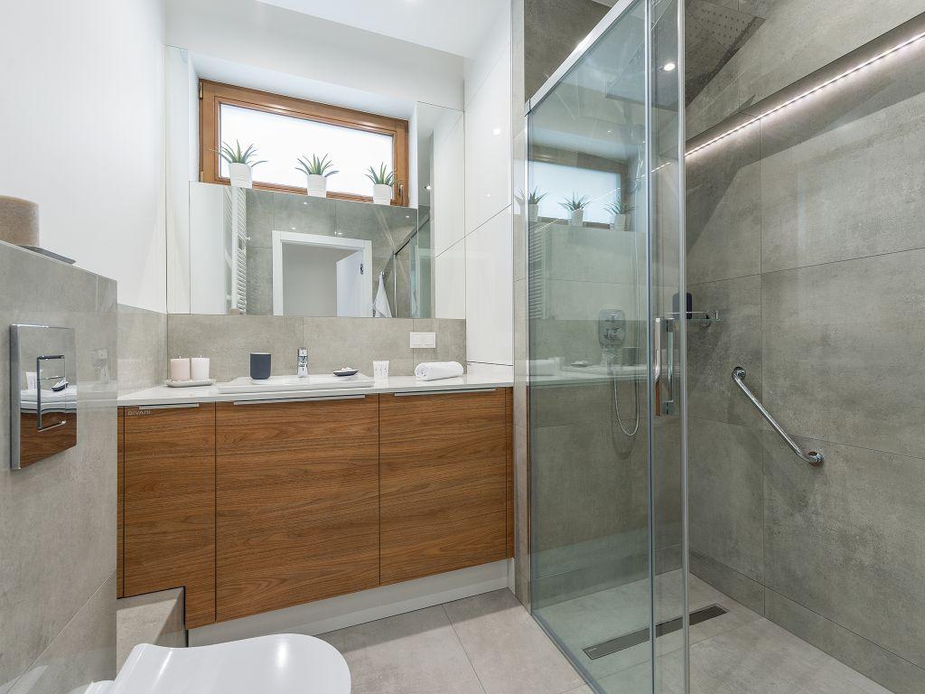 Bathroom at Cybernetyki 4 Apartment