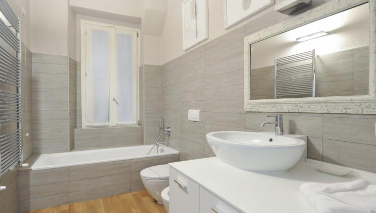 Immaculate bathroom at San Rocco Apartment
