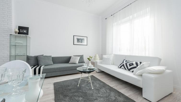 Comfortable living area at P&O Apartments Andersa