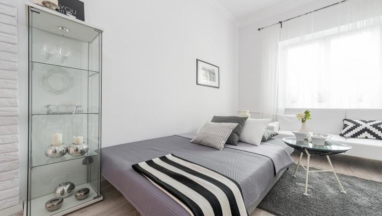 Bed at P&O Apartments Andersa