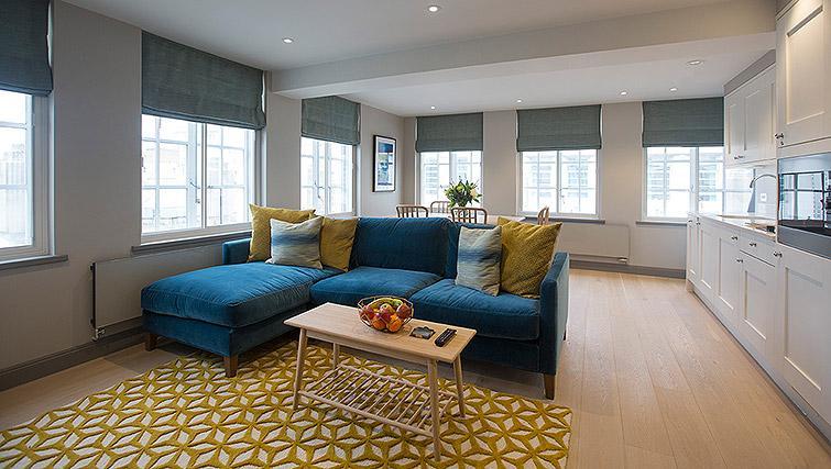 Furnishings at the Waterloo Street Apartments