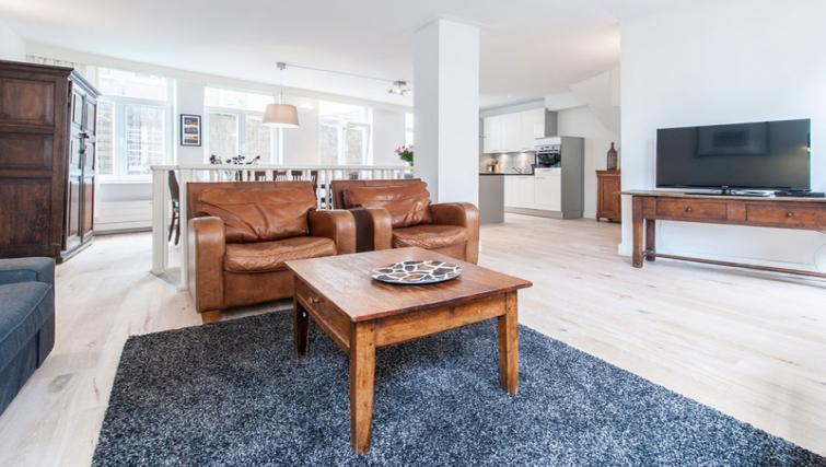 pacious living area at Nieuwmarkt-Waag 3 Apartments, Amsterdam