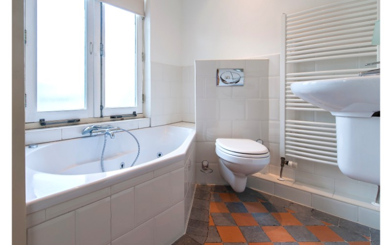 Bath at Nieuwmarkt-Waag 3 Apartments, Amsterdam