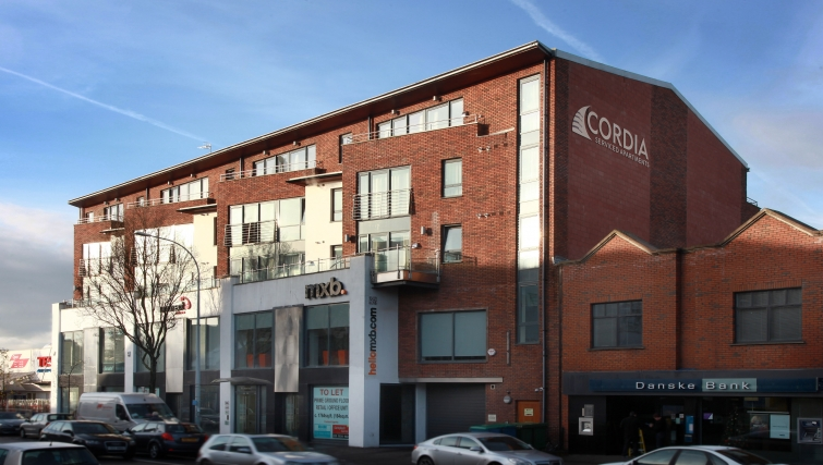 Exceptional exterior of Cordia Serviced Apartments