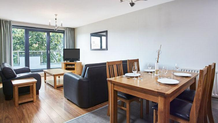 Dining table at Cordia Serviced Apartments