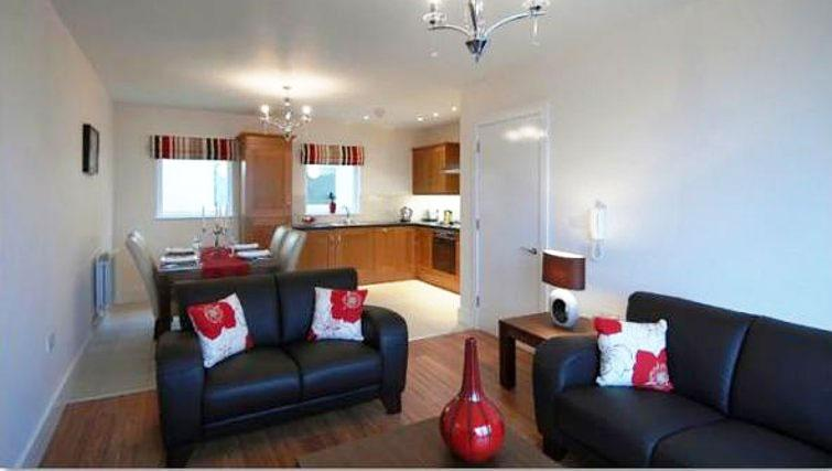 Cosy living area Cordia Serviced Apartments