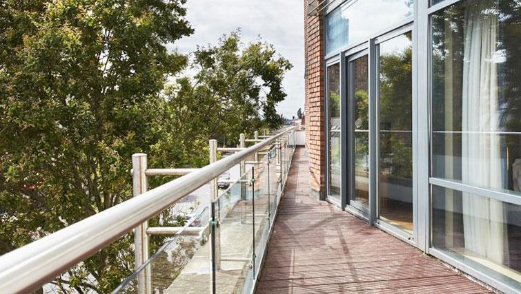 Balcony at Cordia Serviced Apartments