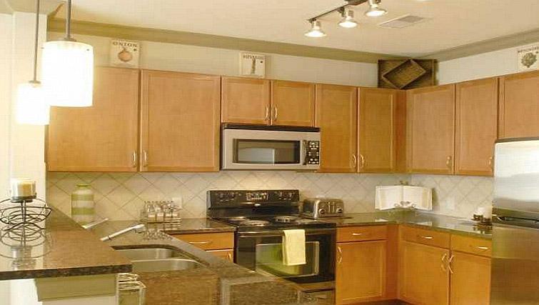 Kitchen at Gables Sheridan Apartment