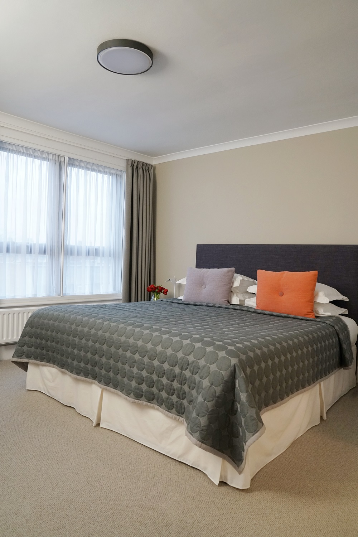Bedding at Monarch House, Kensington, London