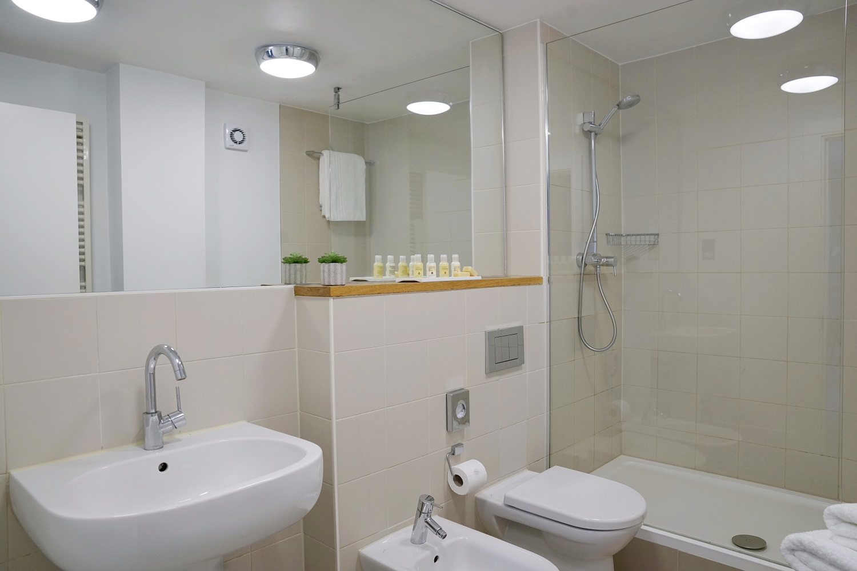 Bathroom at Monarch House, Kensington, London