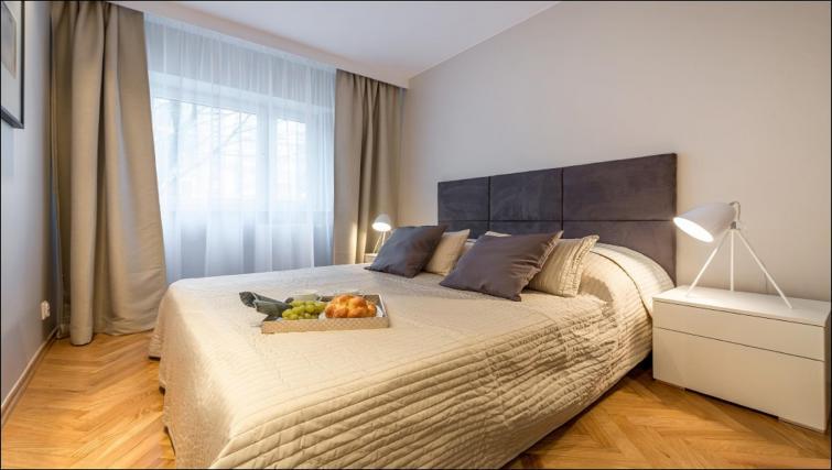 Bedroom at Chmielna Apartment