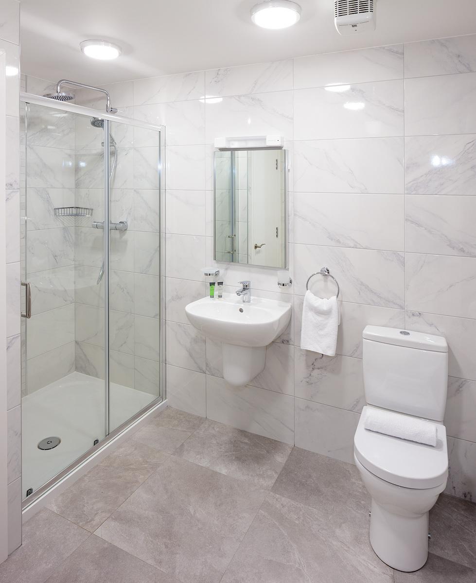 Bathroom at Baggot Rath House Apartments, Ballsbridge, Dublin