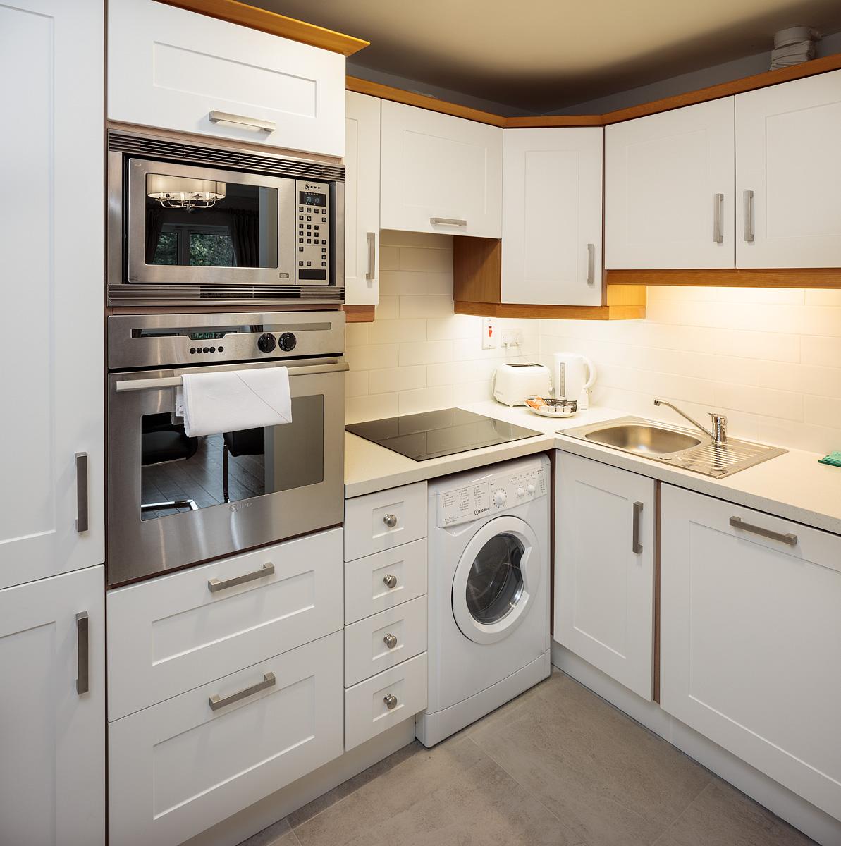 Kitchen at Baggot Rath House Apartments, Ballsbridge, Dublin