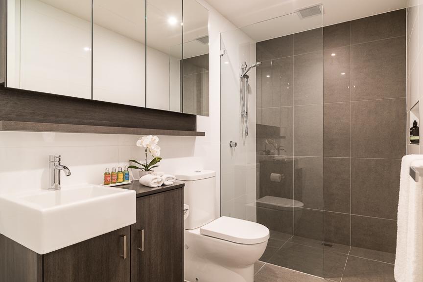 Bathroom at Sandy Hill Apartments