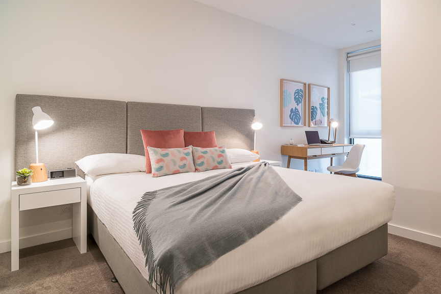 Bedroom at Sandy Hill Apartments