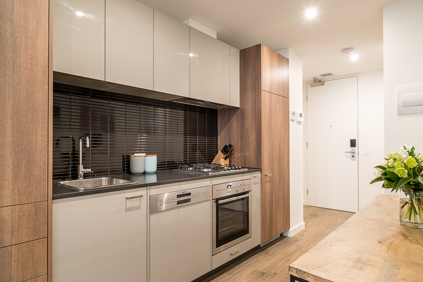 Kitchen at Sandy Hill Apartments